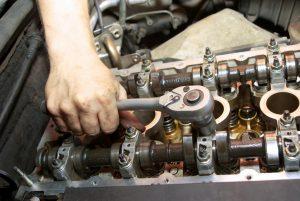повреден двигател